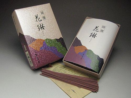 白檀を基調とした華やかな香りのお線香 薫寿堂のお線香 特撰花琳 お徳用バラ詰