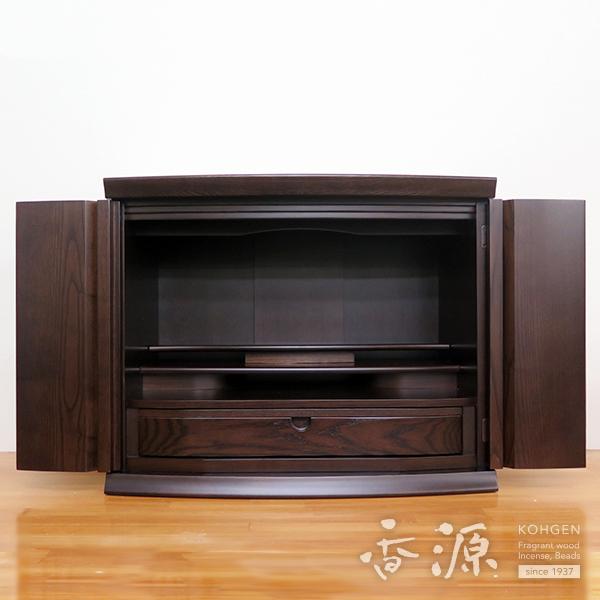 [送料無料]モダン仏壇 16号 上置