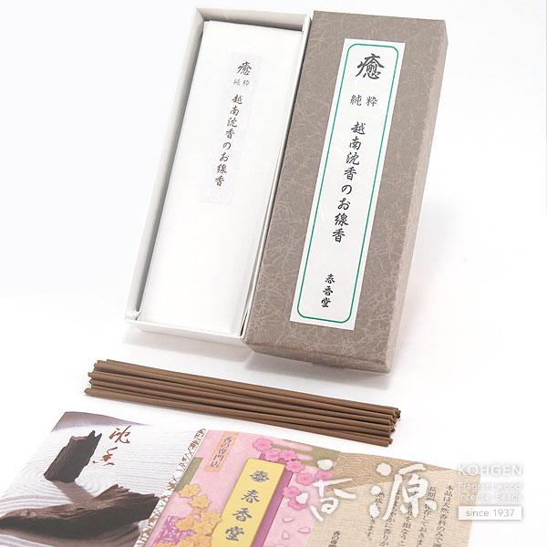 【沈香の香りのお線香】 春香堂のお線香 越南沈香 50本入 ザーライ