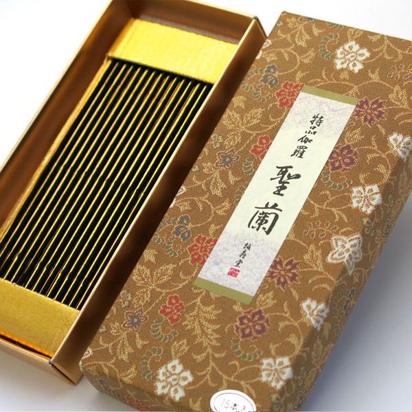 誠寿堂のお香 特品伽羅聖蘭 文庫型