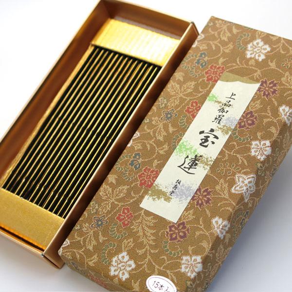 誠寿堂のお線香 上品伽羅宝蓮 文庫型