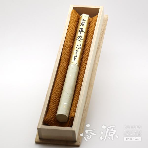 日本香堂 お線香 ギフト 伽羅平安 長寸1把入