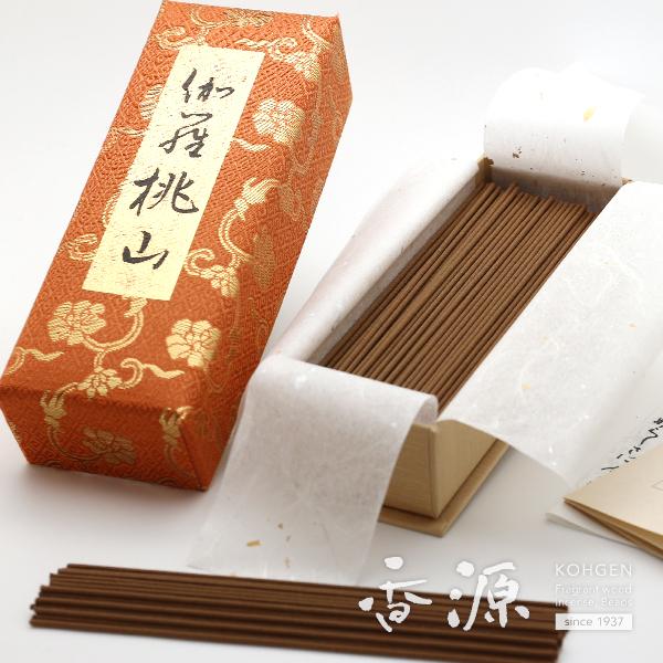 日本香堂のお線香 伽羅桃山お徳用バラ詰【送料無料】