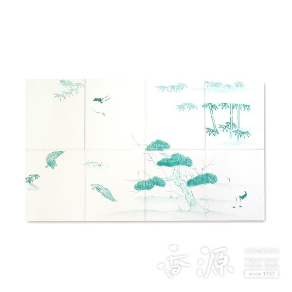 【香道具】地敷紙鳥の子(表) 【送料無料】