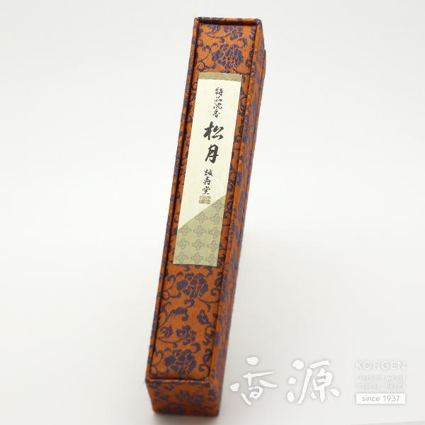 誠寿堂のお線香 特品沈香松月 短寸30本入【送料無料】