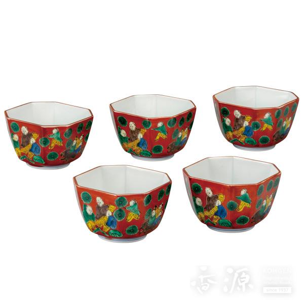 九谷焼 3号 小鉢揃 木米