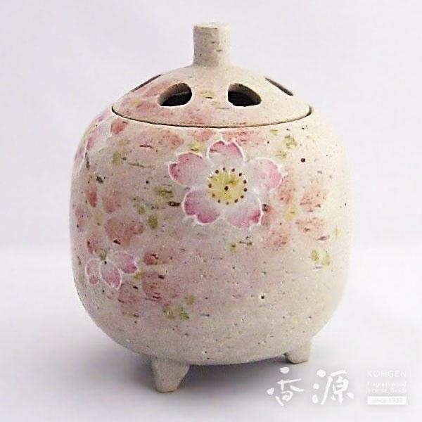 京焼 香炉 桜