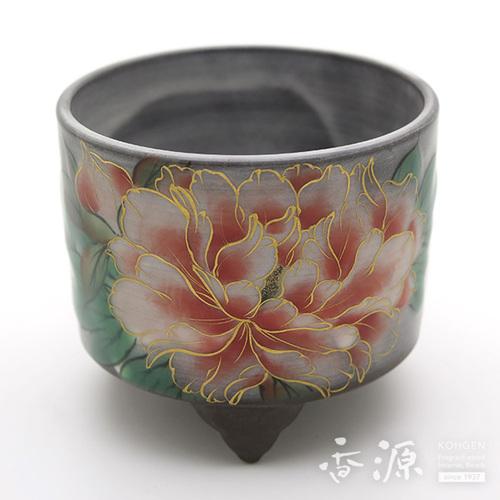 京焼・清水焼 聞香炉 牡丹【受注生産品】