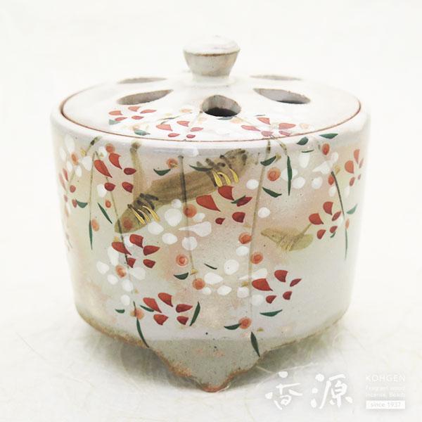 京焼・清水焼 香炉 乾山手(けんざんて) 桜