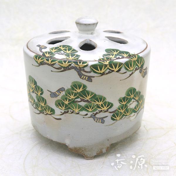 京焼・清水焼 香炉 乾山手(けんざんて)松