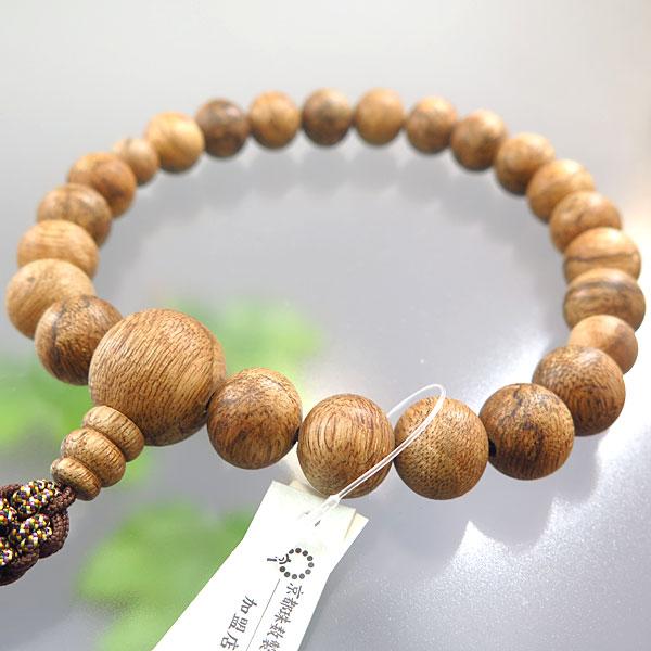 男性用お数珠 インドネシア産沈香 22玉 共仕立て 限定品