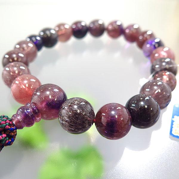 男性用お数珠 セイクリッドセブン 18玉 共仕立て 限定品