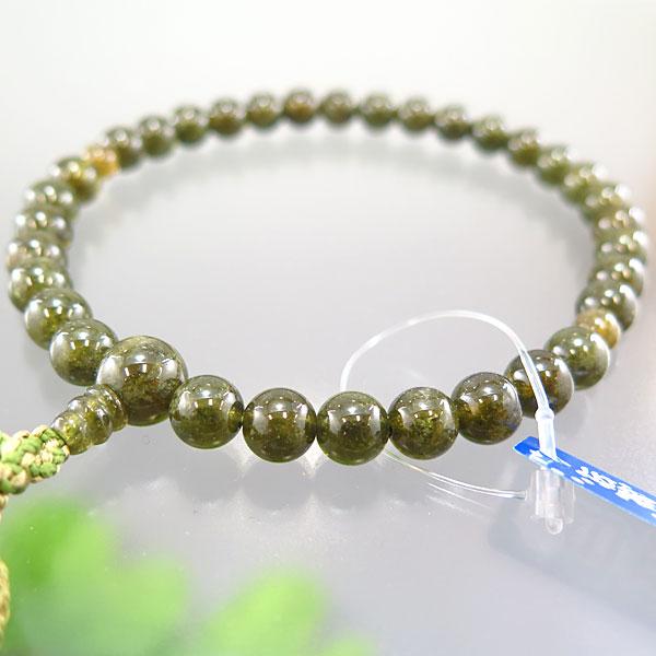 女性用お数珠 グリーンガーネット 8mm玉 共仕立て 限定品