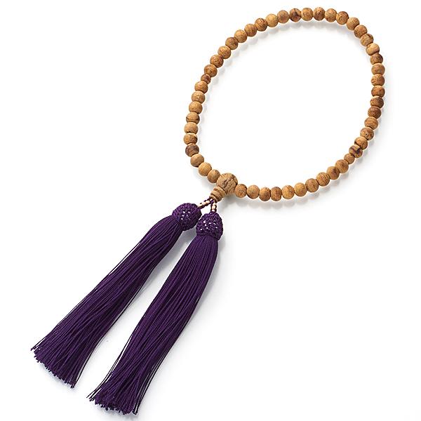 女性用お数珠 インドネシア産 沈香 6mm玉 共仕立て 限定品