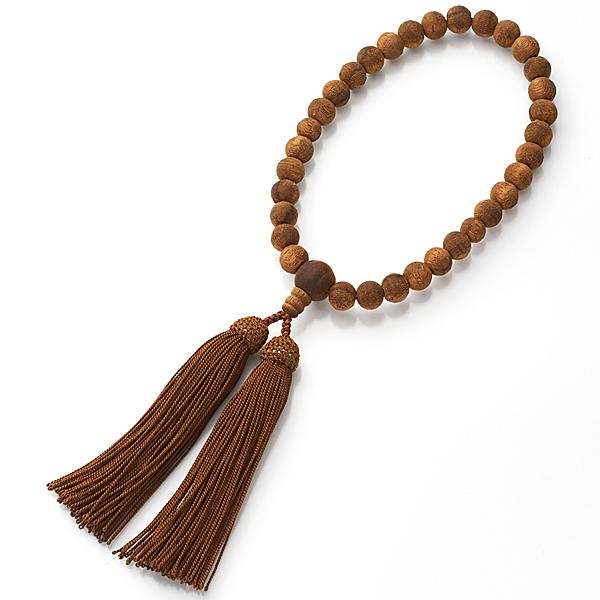 女性用お数珠 インドネシア産 沈香 9mm玉 共仕立て 限定品