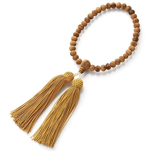女性用お数珠 インドネシア産沈香 7mm玉 尺二 共仕立て 頭房 限定品