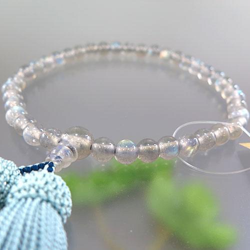 女性用数珠 ラブラドライト 7mm玉 共仕立て 限定品 B