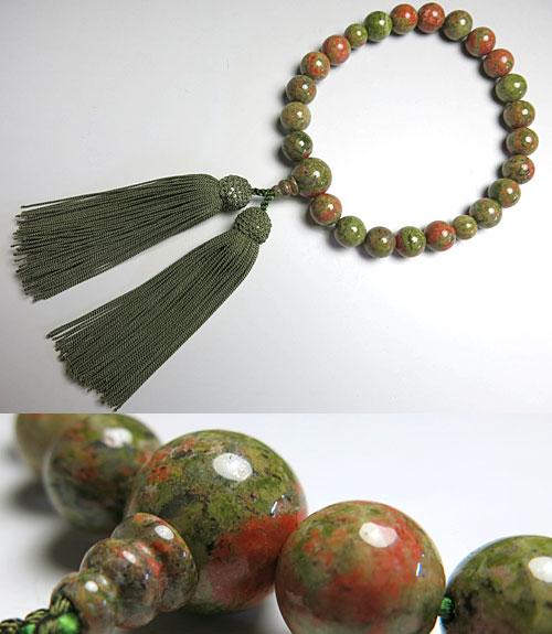 男性用のお数珠 エピドット 22玉 共仕立て【数珠】【念珠】【エピドット】