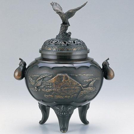 高岡銅器 香炉 夢香炉
