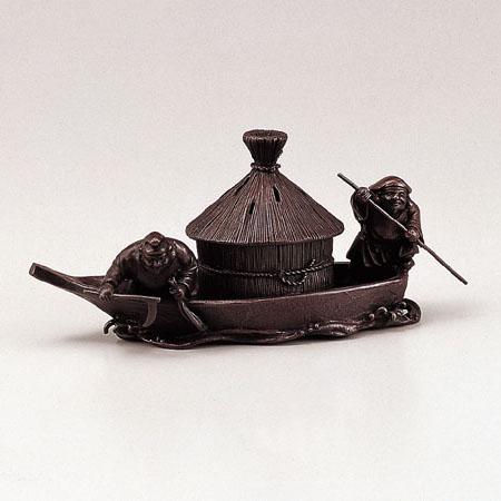 高岡銅器 香炉 藻かる香炉 徳色