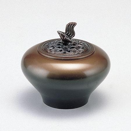 高岡銅器 香炉 小鳥香炉 鍋長