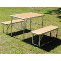 コーナン オリジナル アルミテーブルチェアセット KG23-2008
