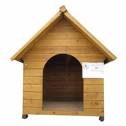 犬舎 700 KJ12-7957 犬小屋 屋外 木製 野外 室外 庭用 外飼 ドッグ ハウス おうち おしゃれ かわいい コーナン【ラッキーシール対応】