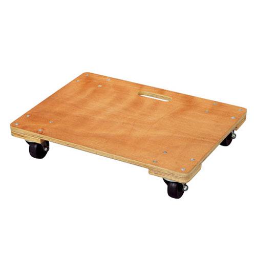 荷物を運ぶのに便利 ※静音タイプではありません ≪あす楽対応≫コーナン オリジナル 中 約60cm×45cm 木製平台車 待望 新作製品 世界最高品質人気