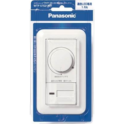 パナソニック Panasonic コスモワイドLED埋込調光スイッチC WTP57521WP