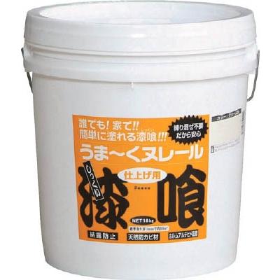 ≪あす楽対応≫日本プラスター うま~くヌレール18kg 公式ショップ クリーム塗料 送料無料激安祭 補修用品 壁材 塗料 万能タイプ 接着剤