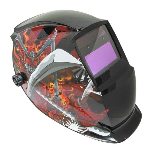 リランド 溶接自動遮光面 侍 X701 ブラック