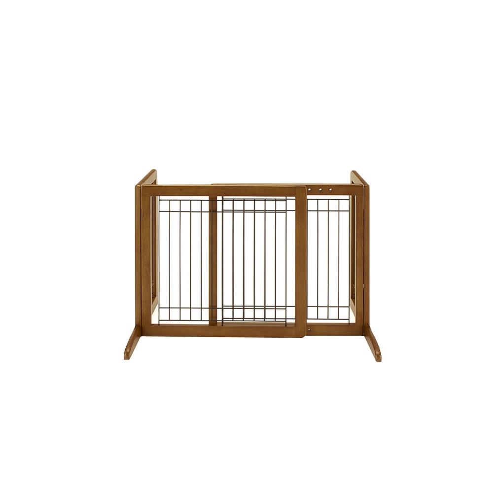 リッチェル ペット用 木製おくだけゲート【ラッキーシール対応】