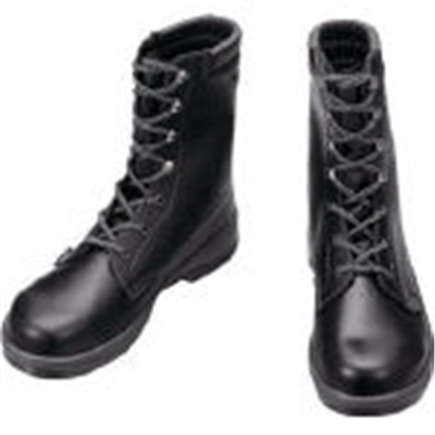 シモン 安全靴 長編上靴 7533黒 25.0cm 7533N25.0