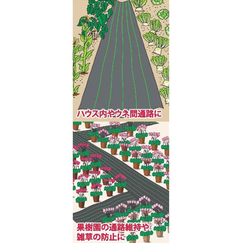 防草クロスシート 1m×100m 黒