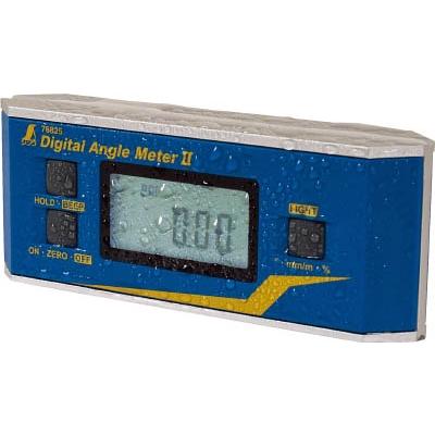 シンワ測定 シンワ デジタルアングルメーター2防塵防水マグネット付 76826