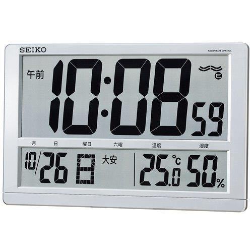 セイコー 電波掛置兼用時計SQ433S【ラッキーシール対応】