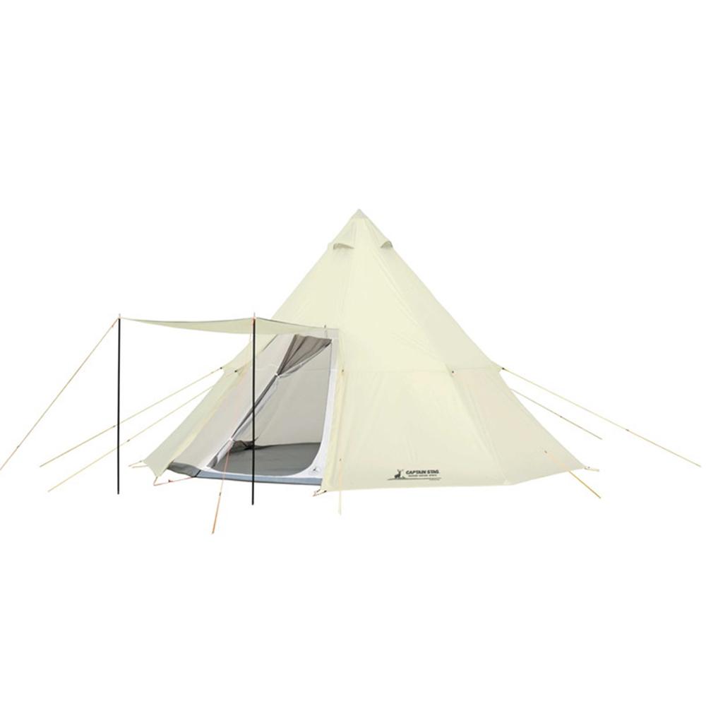 CAPTAN STAG キャプテンスタッグ テント ワンポールテント オクタゴン ティピー型 7~8人用 【サイズ460×460×H300cm】 UV・PU加工 キャリーバッグ付き CSクラシックス UA-35