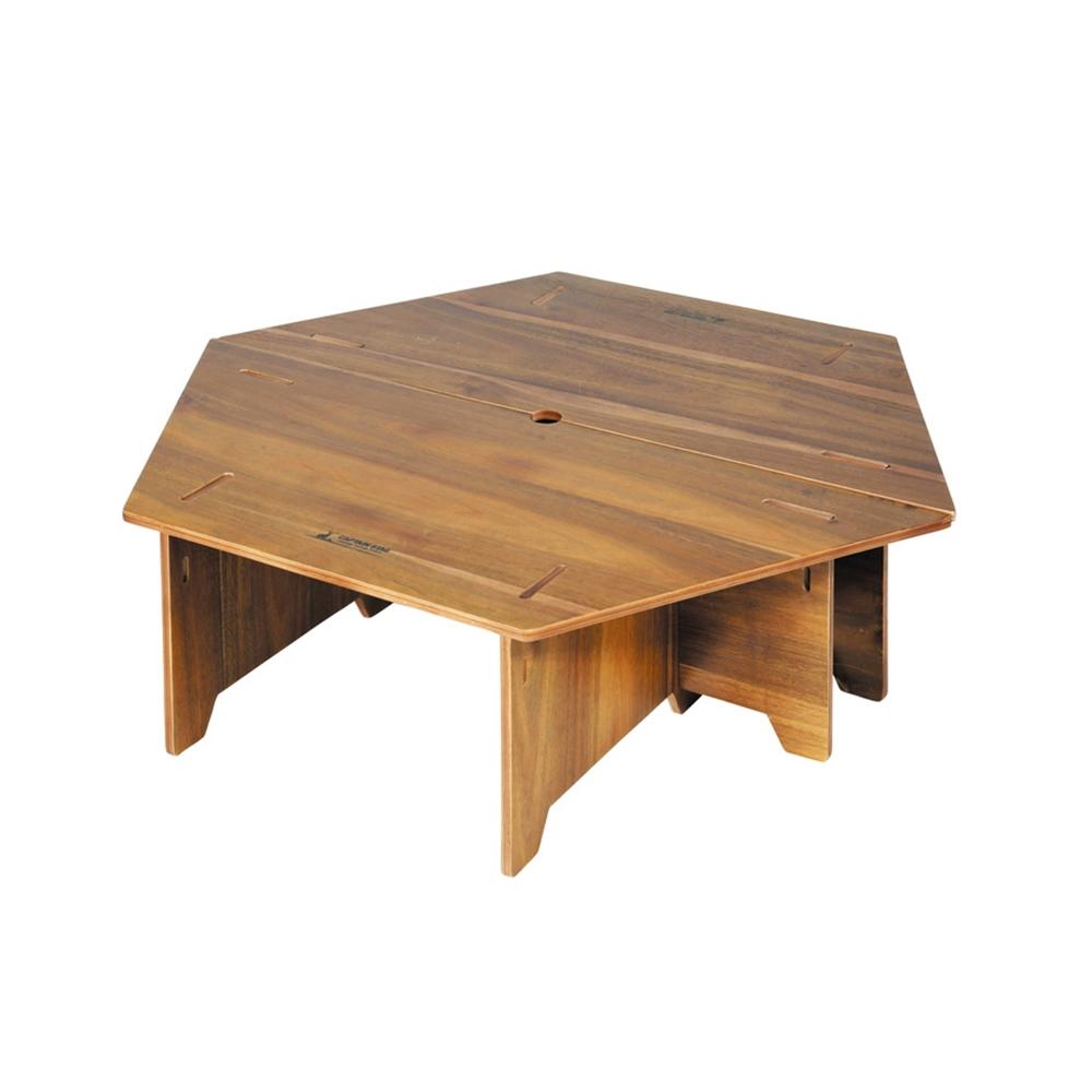 CAPTAN STAG キャプテンスタッグ(CAPTAIN STAG) テーブル ヘキサセンターテーブル 収納バッグ付き CSクラシックス UP-1040 ※テント等は演出用です。商品には含まれません。【ラッキーシール対応】