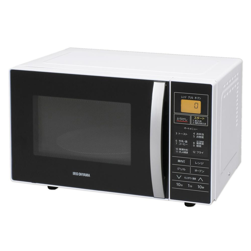 アイリスオーヤマ オーブンレンジ 16L ターンテーブル MO-T1601ホワイト