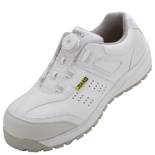 IGNIO イグニオ 安全靴 ダイヤル IGS1047WH27.527.5 ホワイト