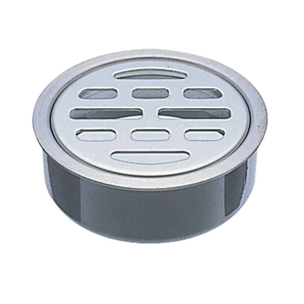 SANEI (三栄水栓) 【VU・VPパイプ兼用目皿】呼び125配管用 H417B-125