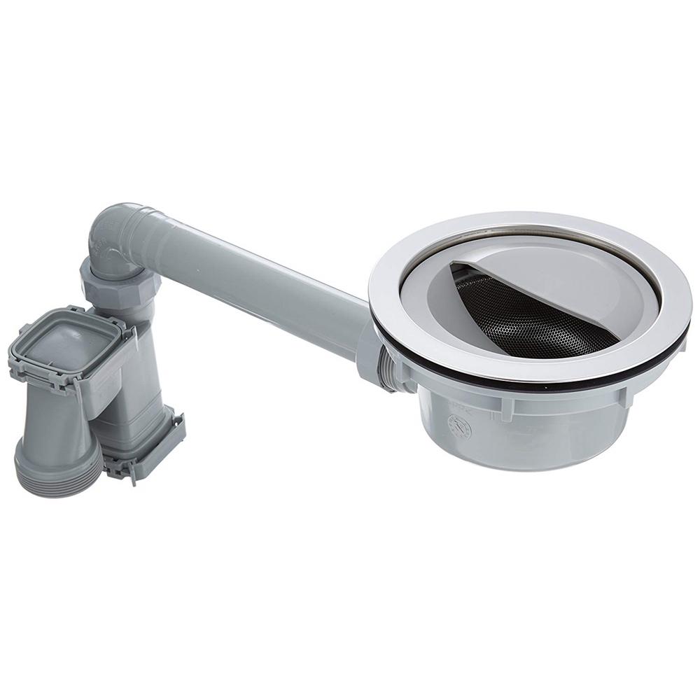 SANEI (三栄水栓) SANEI 【シンクの下が活用できるトラップ】 流し台薄型トラップ H6560S