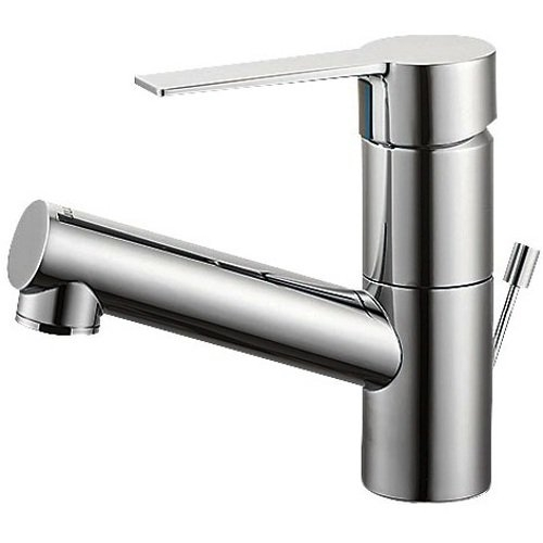 SANEI (三栄水栓) 【洗面用混合栓(寒冷地仕様)】 洗面用 シングルワンホール混合栓 ポップアップ用 寒冷地仕様