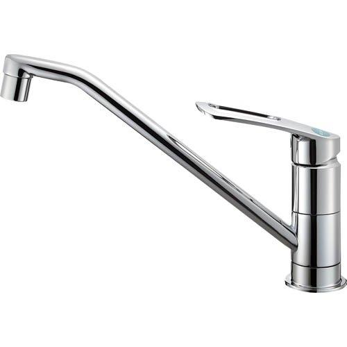 SANEI (三栄水栓) SANEI 節約・エコ シングルワンホール混合栓 寒冷地仕様 取付簡単タイプ