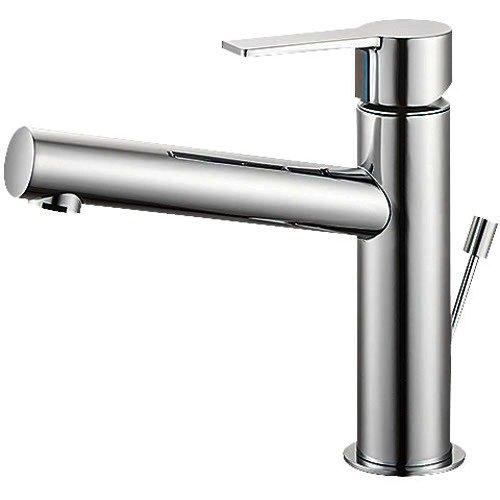 SANEI (三栄水栓) 【洗面用 寒冷地仕様】 シングルワンホール洗面混合栓 ポップアップ用