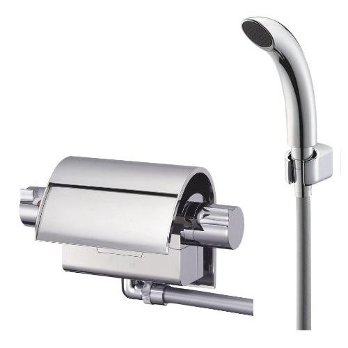 SANEI (三栄水栓) SANEI 【バス用混合栓】 サーモシャワー混合栓 配管取付ピッチ90mm(+-2mm) SK2890標準地仕様