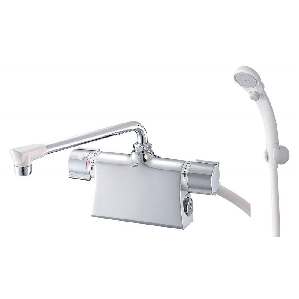 SANEI (三栄水栓) SANEI 【バス用混合栓】サーモデッキシャワー混合栓 取付芯ピッチ102mm SK785D-L