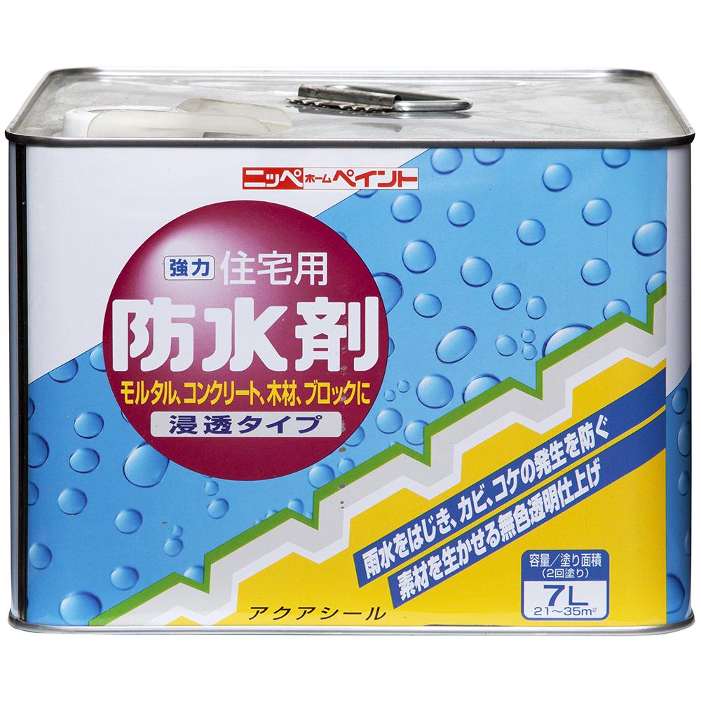 ニッペホームプロダクツ 住宅用防水剤 7L 透明