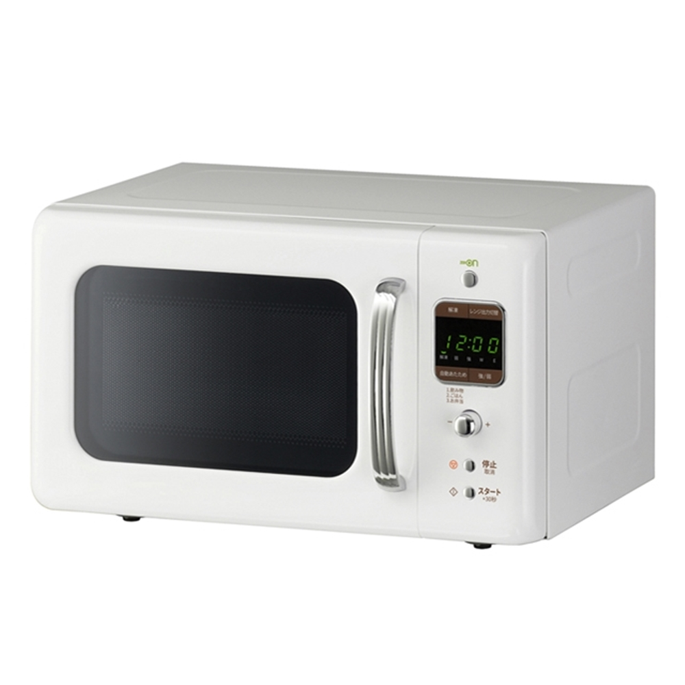DAEWOO レトロデザイン電子レンジ ホワイト DM-E25AW 50Hz 【ラッキーシール対応】