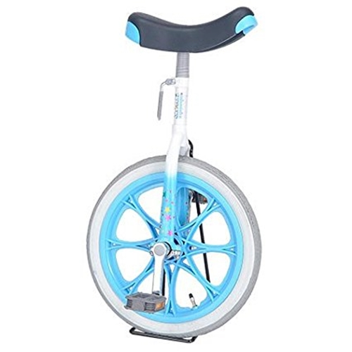 (株)サギサカ サギサカ ユニサイクル 子供用 一輪車 16インチ ブルー 4904 ※スタンドは付属されていません16インチブルー